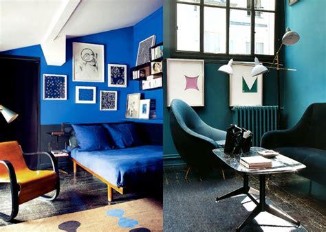 rood tegen blauw interieur blauwe muur kleur slaapkamers gehoor geven aan uw huis