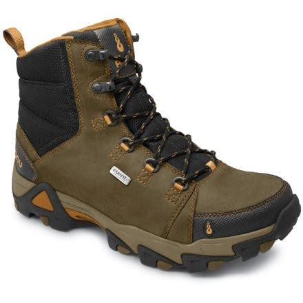 rei boots mens ahnu coburn waterproof hiking boots s at rei