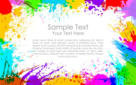 happy holi paints backgrounds 04 vector free download