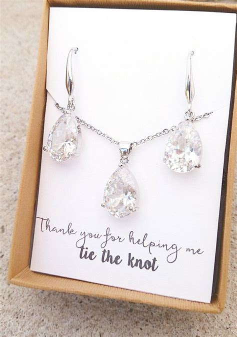 25 best ideas about bridesmaid jewelry sets on