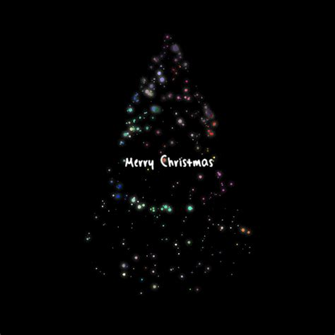 merry christmas art gif find share  giphy