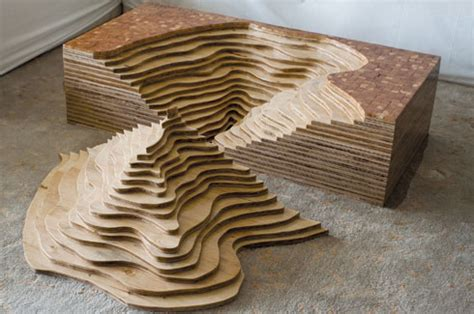 topography coffee table pushing boundaries