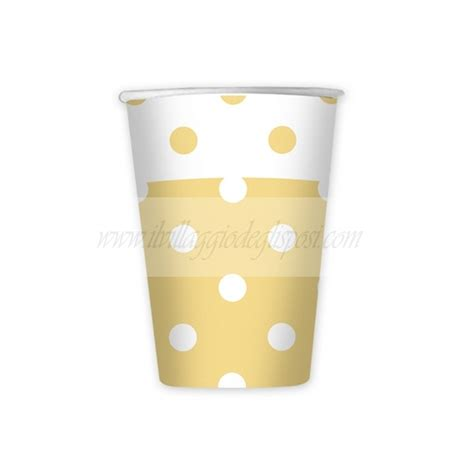 Vendita Bicchieri On Line Vendita 10 Bicchieri Caff 232 80 Cc A Pois Vari Colori