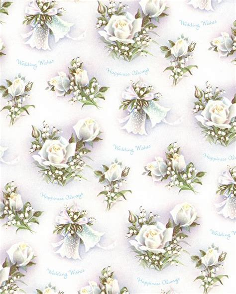 Wedding Wrapping Paper by 1950s Wedding Wrapping Paper Wedding Planner