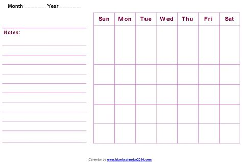 printable blank calendar template blank monthly calendar template word great printable