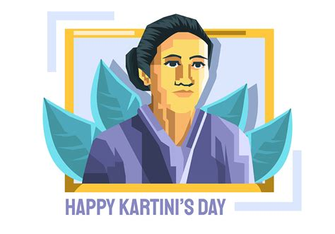 kartini day   vectors clipart graphics