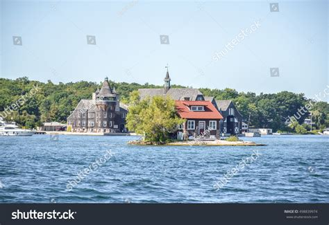 Search Websites Kingston Ontario One Island With A Small House In Thousand Islands Region