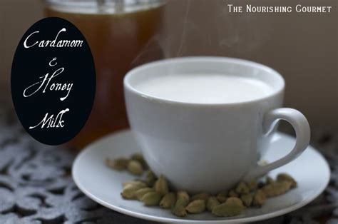 almond milk before bed cardamom and honey milk recipe warm homemade and almonds