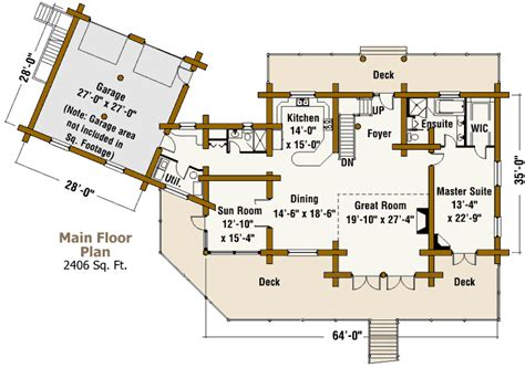 texas ranch house floor plans texas ranch log home design by the log connection