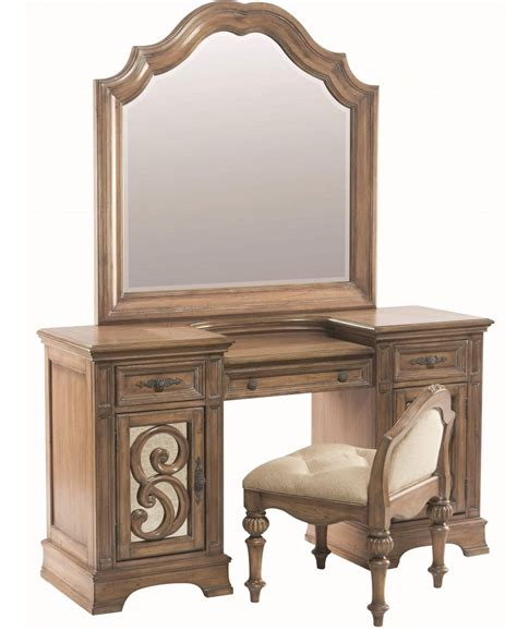 vanity mirror and desk 3 piece coaster ilana vanity desk mirror and stool antique