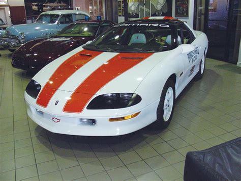 1996 chevy camaro specs 1996 chevrolet camaro brickyard pace car 21486