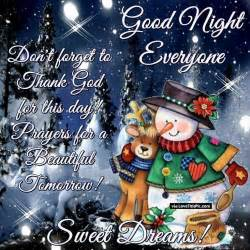 good night winter quote pictures photos images