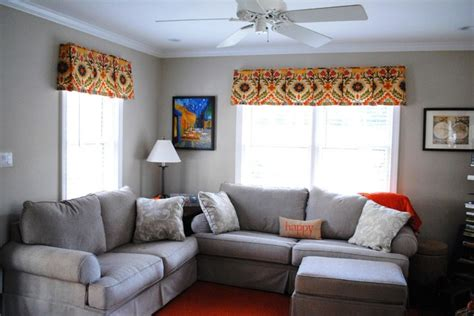 Valances For Family Room colorful valances for a family room traditional living