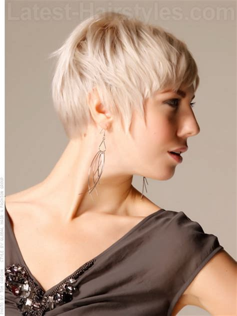 funky haircuts for fine hair pixie haircut for fine hair