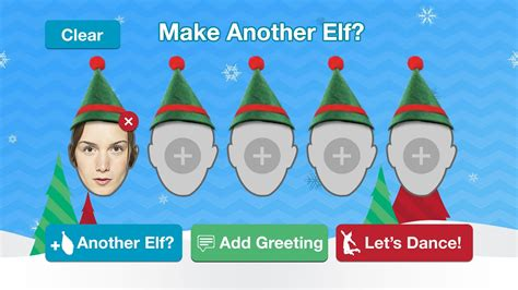 printable christmas cards with face inserts elfyourself by office depot android apps on google play