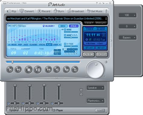 download jet audio converter mp3 download jetaudio 8 1 5 basic filehippo com