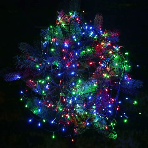 usb dc 5v rgb 100 led christmas string light for outdoor