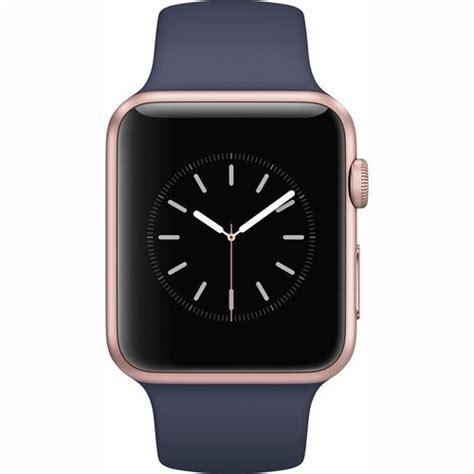 Apple Series 1 Aluminum Goldmidnight Blue Sport Band 42mm apple series 1 smartwatch 42mm gold aluminum midnight blue sport band newest