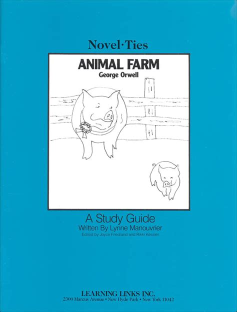 a guide for the study of animals classic reprint books animal farm novel ties study guide 061511 details