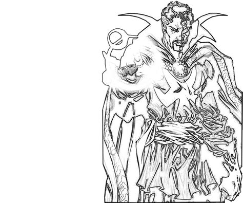 doctor strange coloring page free coloring pages of doctor strange