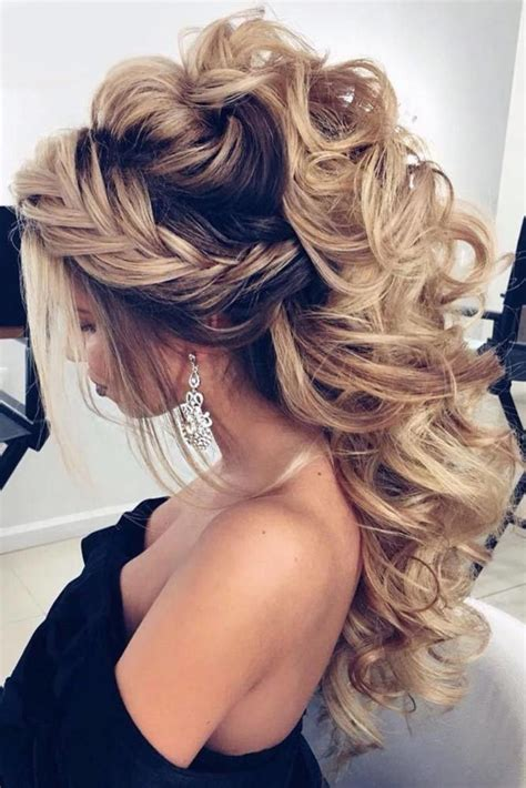 Hairstyle For Prom by Prom Styles Concrete