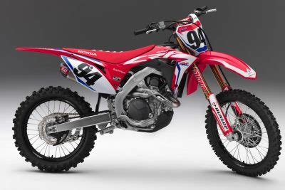 2019 honda crf motocross lineup first look | fast facts on