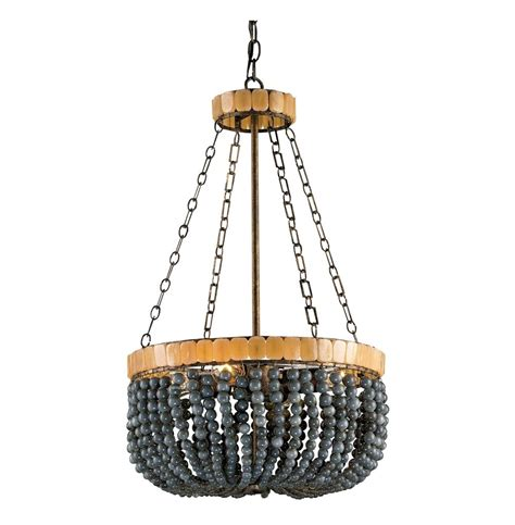 Laila Gray Beaded Glass 4 Light Basket Chandelier Kathy Basket Chandelier