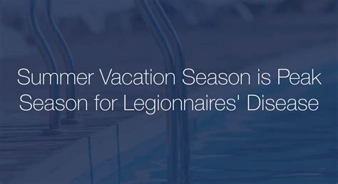 Summer Travel Season Is Officially Way by Beware Of Contracting Legionnaires Disease While On Vacation