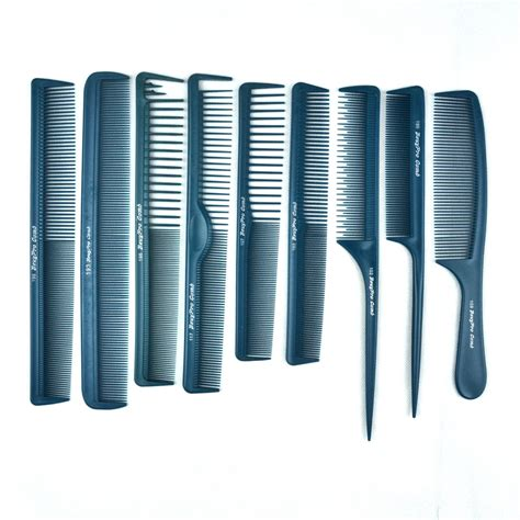 what hair product to use in comb 9 pcs hair antistatic comb set for hair salon barber