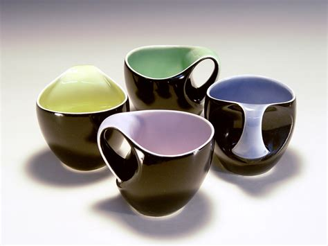 cup design b bicolor coffee cups