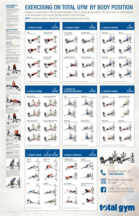 total exercises printable total incline