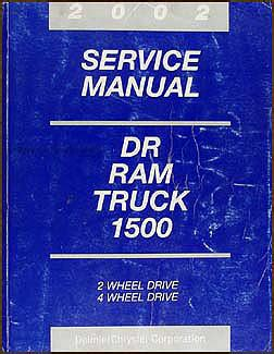 book repair manual 2002 dodge ram van 1500 parental controls 2002 dodge ram 1500 pickup truck original shop manual repair service book ebay