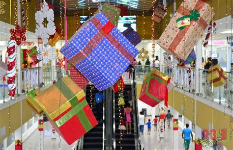 malls decorated in christmas at the giftland mall turkeyen
