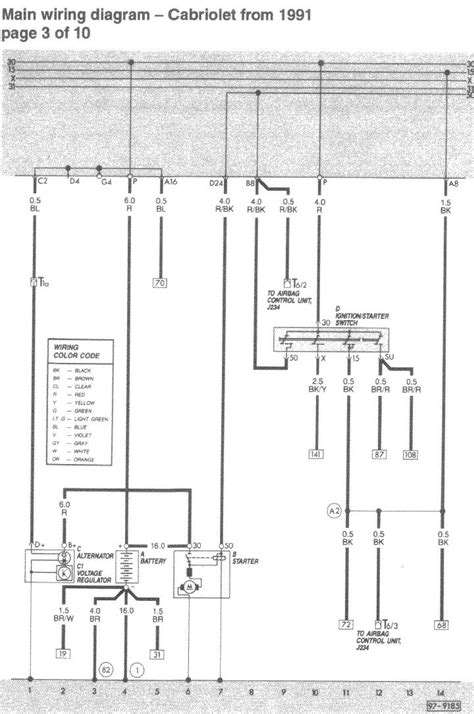 vr6 alternator wiring diagram image collections wiring