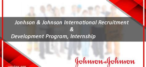 Johnson And Johnson Mba Internship Salary by Irdp Mba International Recruitment And Development