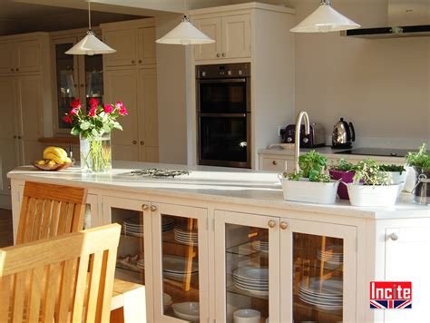 bespoke kitchen islands derbyshire bespoke painted kitchen island by incite