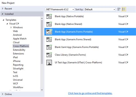 xamarin tutorial to set up getting started with xamarin forms xamarin forms tutorial