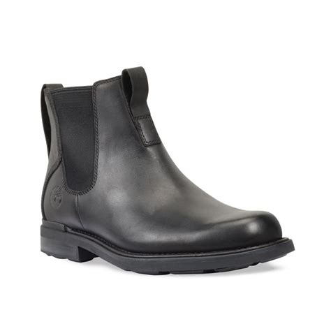 mens waterproof chelsea boots timberland mt washington waterproof chelsea boots in black