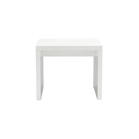 white lacquer side table bellacor