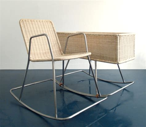 Rocking Chair With Cradle by Cradle Combined With A Rocking Chair The Style Files