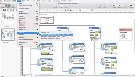 visio compatibility diagram software and drawing tool conceptdraw