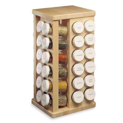 Jk Spice Rack j k maple spice rack carousel 48 bottle cutlery and more