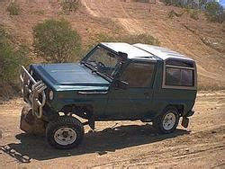 daihatsu rocky lift kit