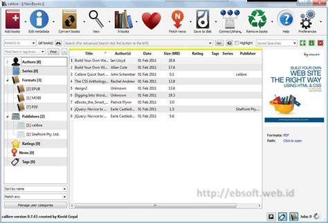 format ebook html konversi dan manajemen berbagai format e book dengan