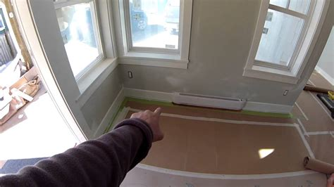 how to protect hardwood floors how to protect hardwood floors during construction youtube