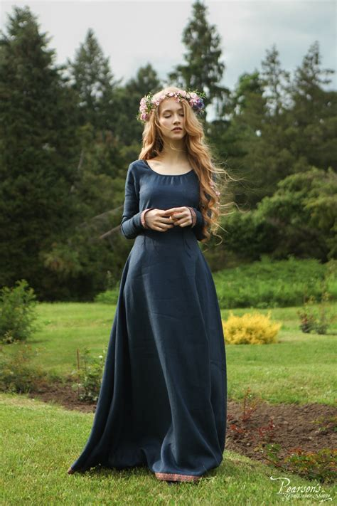 bridesmaid dress secret garden medieval renaissance