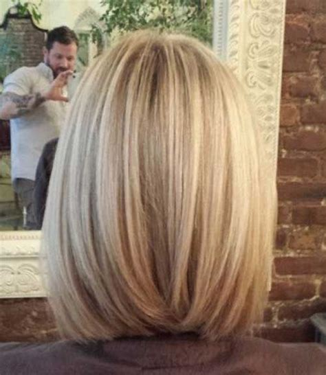 womans haircut back touches top of shoulders front is longer 25 best ideas about bob hairstyles on pinterest medium