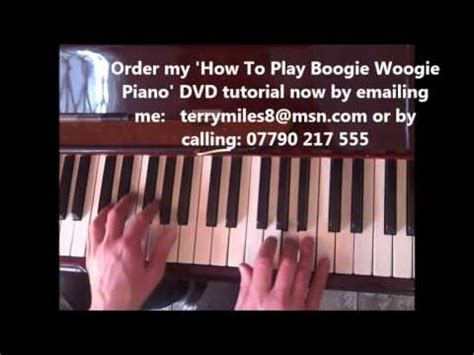 tutorial piano boogie woogie boogie woogie piano lesson 1 jerry lee lewis jools