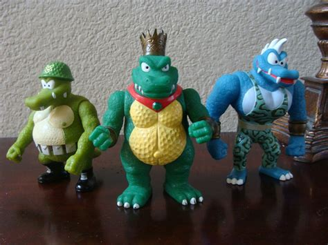 king k rool figure dkc king k rool klump and krusha figures by the