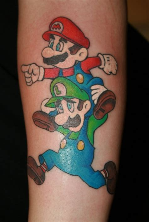 mario tattoo designs 35 mario designs colorlava